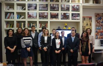 Завершился Первый венгерский студенческий кубок научных презентаций молодых русистов