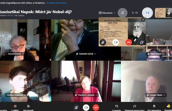 Miért jár Nobel-díj - XII. Ruszisztikai Napok, videópublikáció