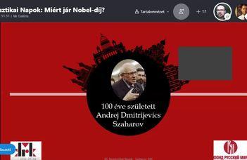 120 лет со дня первого вручения Нобелевской премии – XII Дни русистики
