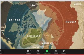 Ilyash György előadása az északi sarkvidék geopolitikájáról
