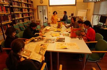 Ruszisztika mesterszakos hallgatók látogatása az OSA Archívumba