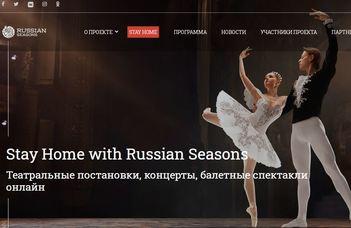#maradjotthon és élvezd a legendás Orosz Szezonok előadásait