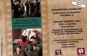#Ruszisztikai Filmklub májusban – extrákkal