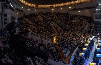 #оставайтесьдома и слушайте концерты Московской филармонии
