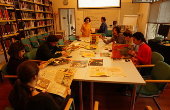 Посещение Архива открытого общества