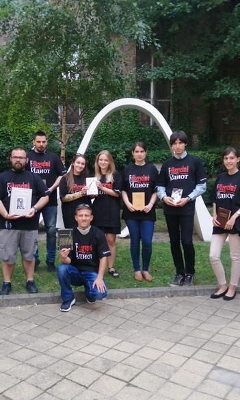 Достоевский в сентябре - флешмоб Будапештского русского центра