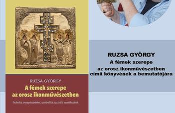 2019.12.18-án 17:00-kor a Ruszisztikai Központ bemutatja Ruzsa György professzor legújabb könyvét.