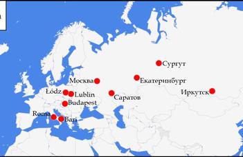 Az orosz emigráció első hulláma №3: sajtókép - beszámoló