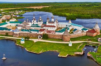 #оставайтесьдома и представьте себя в Соловецком монастыре