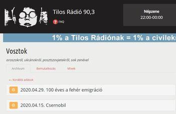 Ha hétfő, akkor - rádióinterjú a Vosztok című műsorban, Ruszisztikai Napok