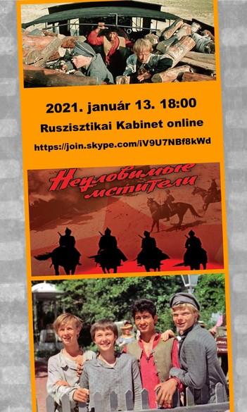 #Ruszisztikai Filmklub online, január - Az elkaphatatlan bosszúállók
