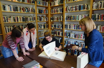 Посещение Национальной библиотеки иностранной литературы