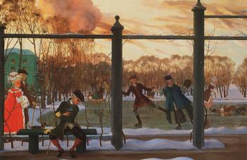 150 éve született az Ezüstkor festője, Konsztantyin Szomov