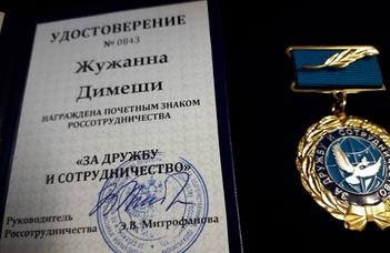 Kitüntetést hozott a Télapó a Ruszisztikai Központba