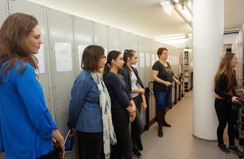 Látogatás a CEU Orosz Gyűjteményében