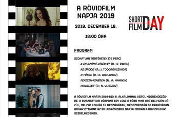 2019.12.18-án 18:00-kor a Ruszisztikai Központban orosz díjnyertes kisfilmek kerülnek bemutatásra.