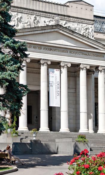 #оставайтесьдома и надевайте 3D очки доя экскурсии в Музей им. Пушкина в Москве
