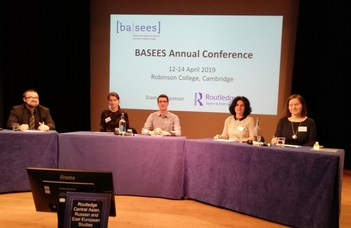 Центр русистики составил целую секцию докладов на конференцию Британской ассоциации славистики и восточноевропейских исследований