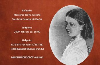 A Párhuzamos életutak c. előadássorozat első főszereplői Jekatyerina Daskova és Szofja Kovalevszkaja