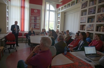 """""""Oroszország külpolitikája a multipoláris világban"""" – Gilyán György nagykövet úr előadása"""