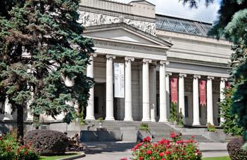 #maradjotthon és húzz 3D szemüveget a Puskin Múzeumhoz