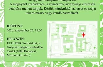 2020.09.25-én 15:00-kor megnyílik a Fortocska Galéria új művelődéstörténeti kiállítása a Magyar-Orosz Művelődési és Baráti Társaság 75 évéről.